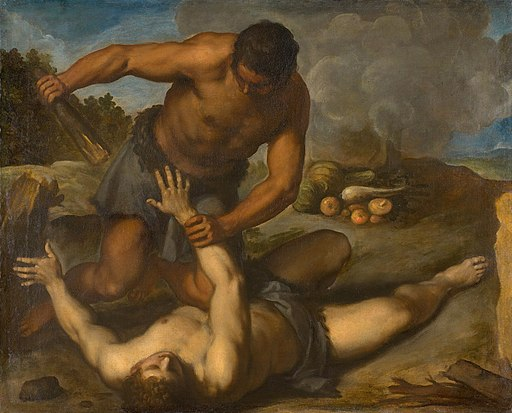 Palma il Giovane - Cain and Abel GG 1576