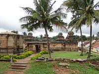 Panchakuta Basadi (10th century AD) at Kambadahalli.JPG