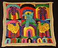 Panel, Kaqchikel Maya, Patzun, late 20th century, cotton and synthetic - Textile Museum of Canada - DSC01206.JPG