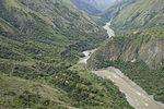 Panorámica del cañón del río Cauca - Hidroituango 1.jpg