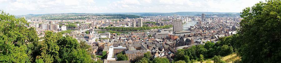 Panorama de la ville de Liège