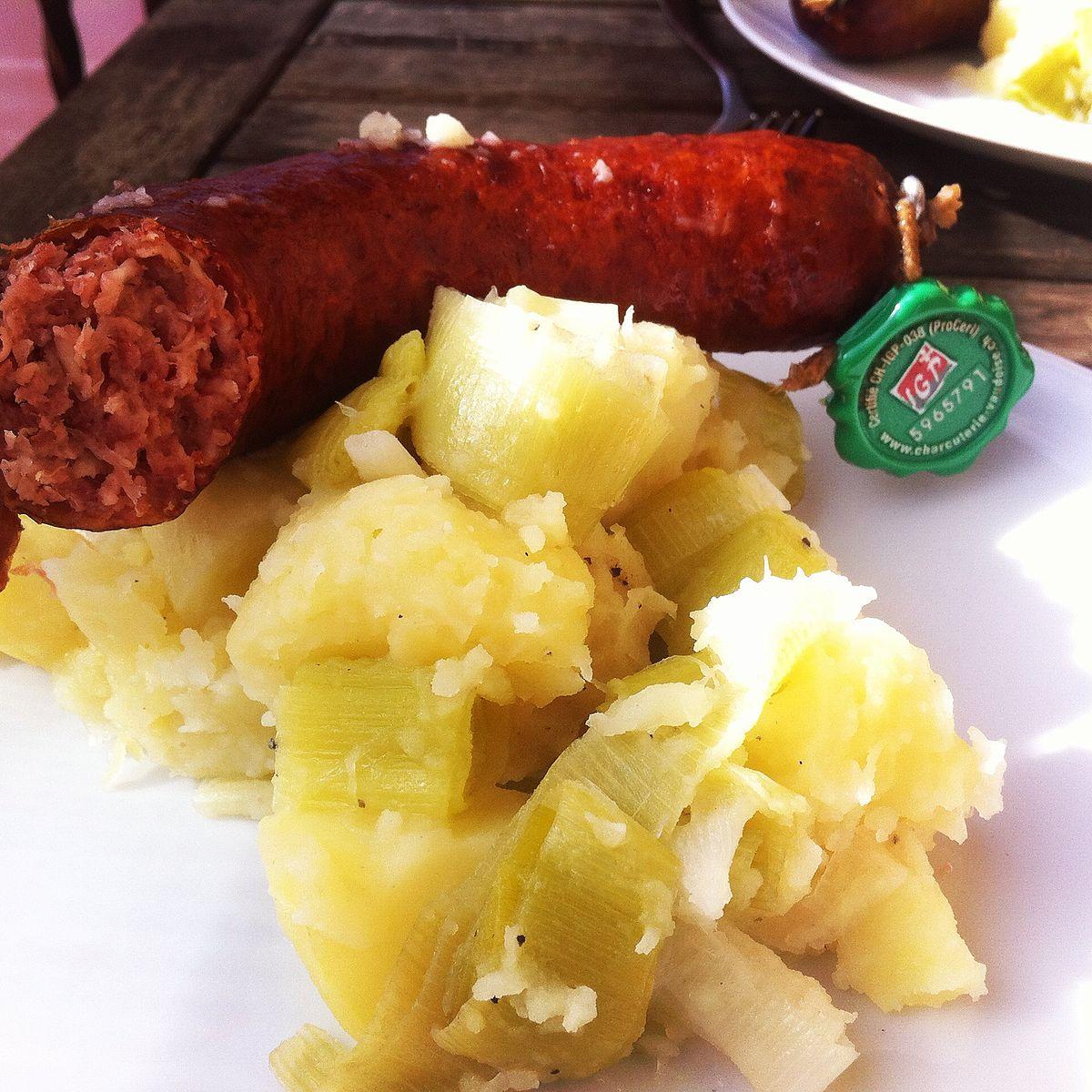 Papet vaudois wikip dia - Restaurant cuisine moleculaire suisse ...