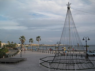 Paphos - Paphos pedestrian boulevard