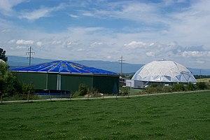 Kerzers - Papiliorama (Butterfly enclosure) in Kerzers village