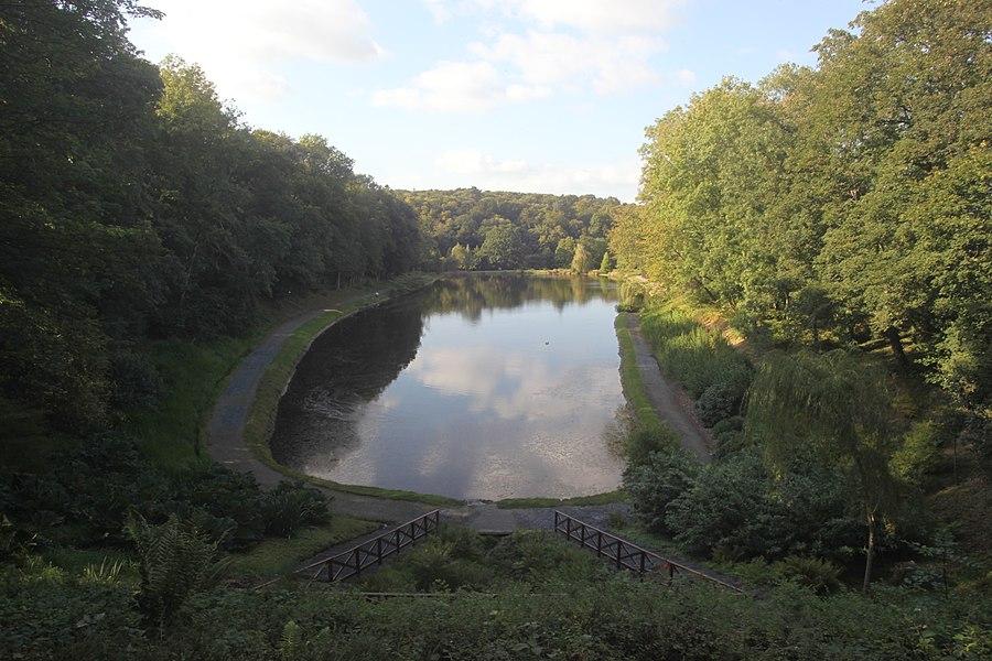 Parc du chateau de Canisy (étang)