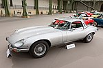 Paris - Bonhams 2017 - Jaguar Type E série III V12 Roadster hardtop usine - 1972 - 001.jpg