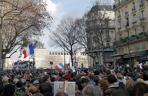 Paris Rally, 11 January 2015 - Monument à la République - 03.jpg