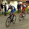 Paris Roubaix 2019, Philippe Gilbert et Nils Politt à 8 kilomètres de l'arrivée.jpg