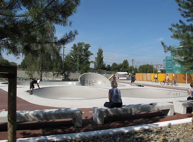Skatepark im Park am Gleisdreieck, Berlin