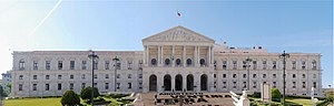 Politics of Portugal - The São Bento Palace, home to the Portuguese Assembly of the Republic, in Lisbon