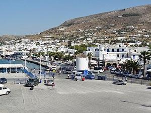 Paros Parikia Hafen 05