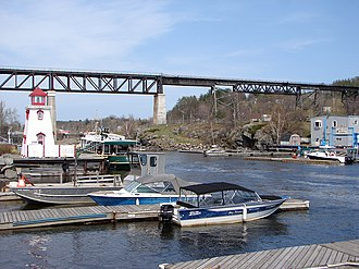 Parry Sound, Ontario - Harbour of Parry Sound