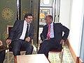 Participation du Dr.Rafik Abdessalem, à la réunion du conseil de la Ligue arabe- Une conférence internationale sur la Syrie le 24 février à Tunis. (6868837039).jpg