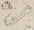 Paskaart van Bermuda Pas kaart van I. La Barmuda anders Sommer Ilands in 't groot (titel op object), RP-P-1896-A-19368-3099.jpg