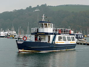 Passenger ferry linking Kingswear and Dartmouth.jpg