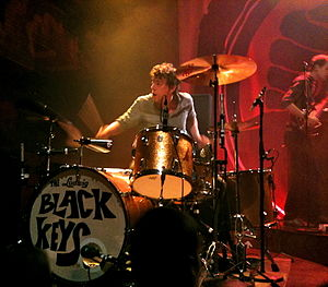 Patrick Carney - Patrick Carney, playing at the House of Blues in New Orleans, LA, on September 21, 2010.