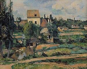 Le moulin sur la Couleuvre à Pontoise