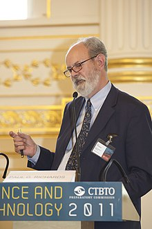 Paul G. Richards at CTBTO Science and Technology conference.jpg