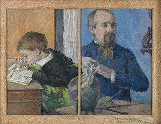 The Sculptor Jean Paul Aubé (1837-1916) and his son Emile