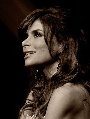 Paula Abdul - Abdul on the set of Live to Dance in 2011