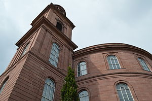 St. Paul's Church, Frankfurt am Main - The exterior of Paulskirche