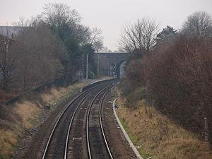 Peartree railway station - Peartree railway station