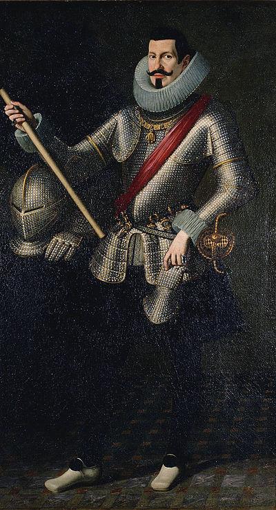 Pedro Téllez-Girón y Velasco, por Bartolomé González y Serrano (1615)