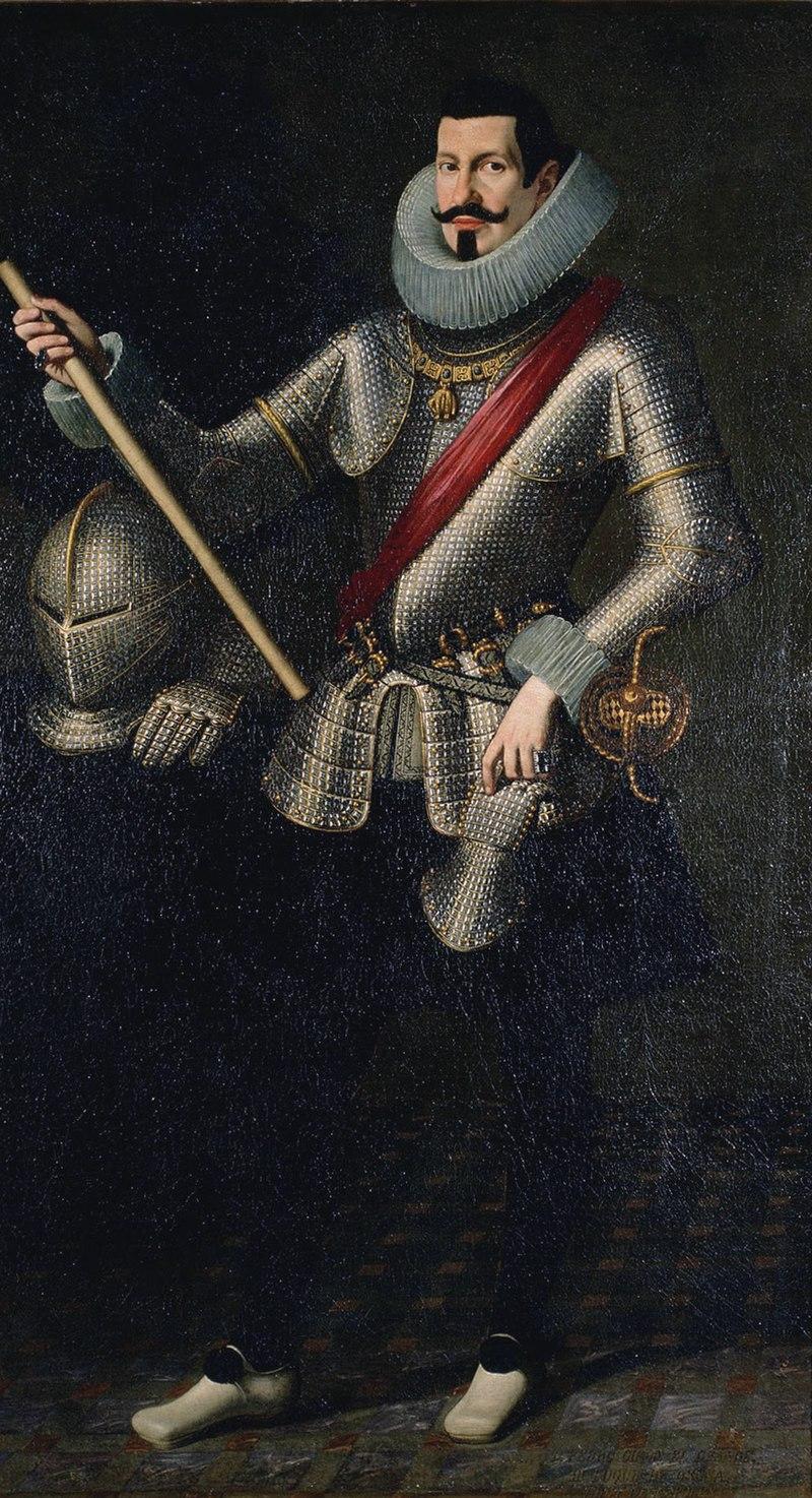 Pedro Téllez-Girón y Velasco, por Bartolomé González y Serrano (1615).