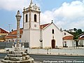 Pelourinho e Igreja Matriz de Maiorga - Portugal (11479880044).jpg
