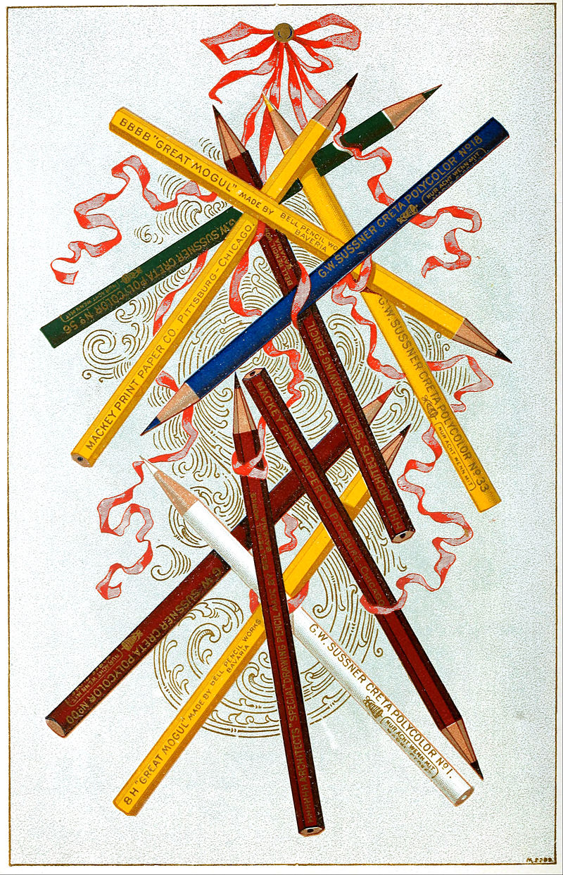 Pencils from the Mackey Print Paper Company, 1897.jpg