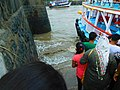 People boarding for ferry ride to elephanta caves 2017 2.jpg