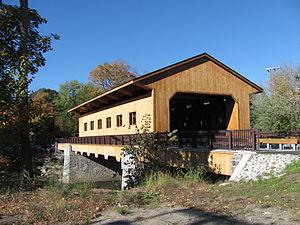 Pepperell, Massachusetts - Pepperell Covered Bridge