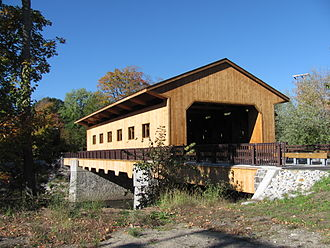 Pepperell, Massachusetts - Pepperell Covered Bridge