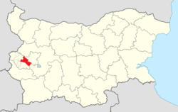 Pernik Municipality Within Bulgaria.png