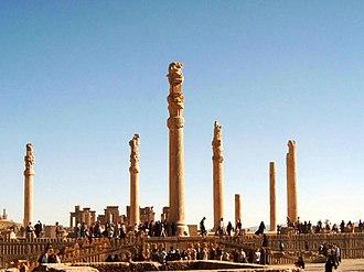 Apadana - Ruins of the Apadana Palace