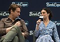 Pete Holmes and Jenny Slate at BookExpo (05573).jpg