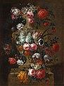Peter Frans Casteels - Flowers in a Stone Urn 2.jpg