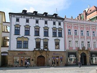 Societas eruditorum incognitorum in terris Austriacis - Olomouc palace of Joseph von Petrasch