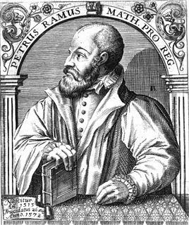 Petrus Ramus French philosopher