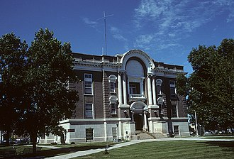 Phelps County, Nebraska - Image: Phelps County Courthouse, Holdrege
