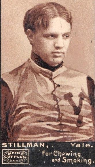 Phillip Stillman - 1894 Mayo Cut football card