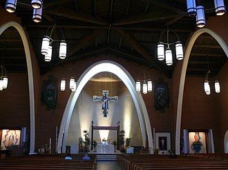 Cathedral of Saints Simon and Jude (Phoenix, Arizona) - Image: Phoenix Cathédrale Saints Simon et Jude 4