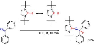 Phosphine - Scheme 3. diazaphospholene phosphine hydride