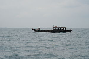 Photo of small boat, taken in singapore, 07-09-2005.JPG