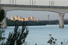 Image illustrative de l'article Double Viaduc TGV d'Avignon