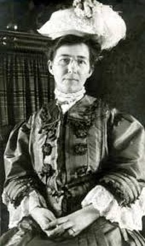 Dulah Marie Evans - Photograph about 1908