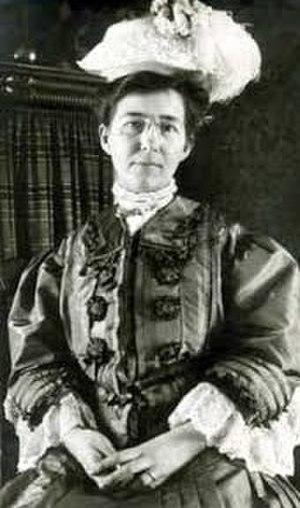Dulah Marie Evans - Photograph about 1908