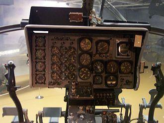 Piasecki H-21 - Piasecki H-21 cockpit