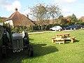Picnic area opposite The White Horse, Rogate - geograph.org.uk - 1537063.jpg