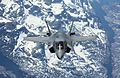 Pictured is the first of the UK's F-35B Lightning II jets to be flown to the UK. MOD 45160024.jpg